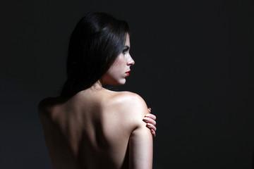 Fragile woman