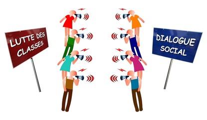 """Débat  """"Lutte des classes vs Dialogue social"""""""