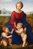 Madonna of the Meadow by Raphael (1505)