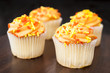 Four Fall Cupcakes