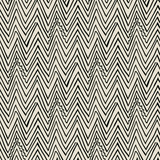 Vector pattern with zigzag black lines