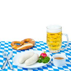 Deutsches Essen zum Oktoberfest