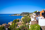 Fototapety Rural Village in Paguera, Cala Fornells, Majorca