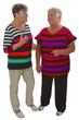 Seniorinnen im Gespraech