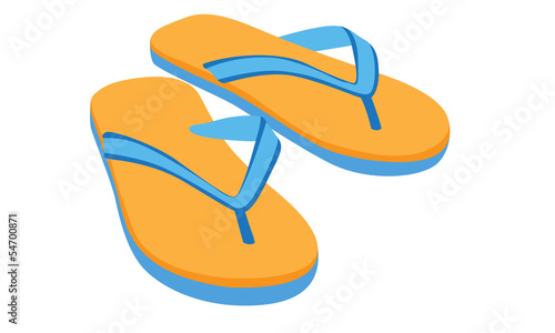 slipper vector