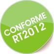 étiquette conforme rt2012