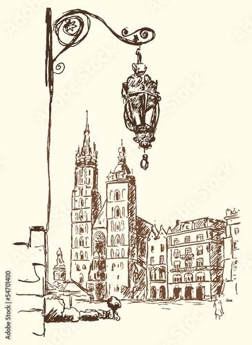 Krakau Rynek © scimmery1