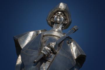 Statue of Juraj Janosik, Terchova, Slovakia