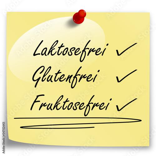 Laktosefrei Glutenfrei Fruktosefrei