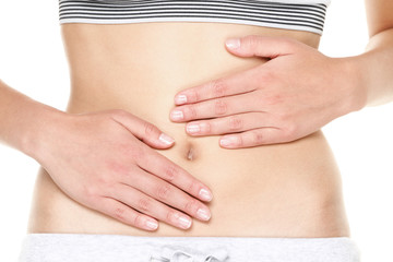 Stomach pain or menstrual pain