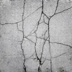 crack in the asphalt texture vector