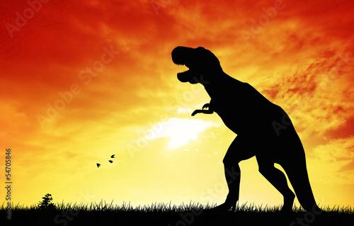 dinozaury-o-zachodzie-slonca