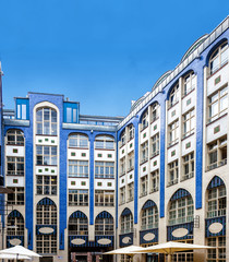 The Jugendstil - Art Nouveau - architecture of the Hackescher Ho
