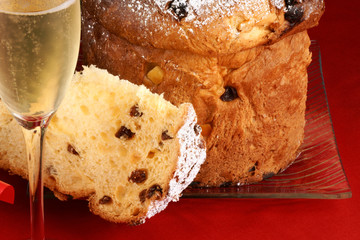 Panettone and Spumante for Christmas