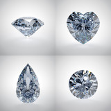 Set of diamonds - 54709433