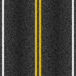 Asphalt road with marking lines - 54710256