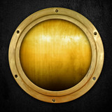 golden porthole