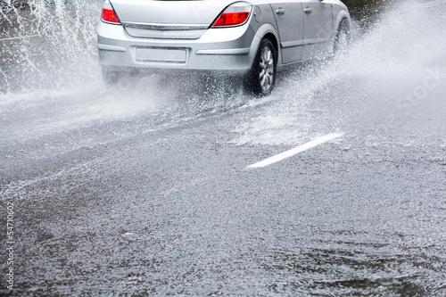 Leinwandbild Motiv Heavy rain