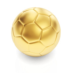 Golden football render award