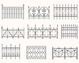 Antique fences - first set