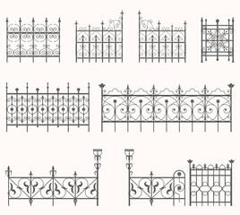 Antique fences - second set