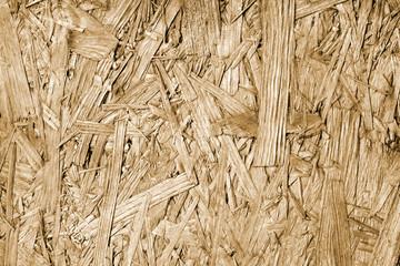 Old vintage sawdust board background texture