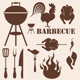 Fototapety Barbecue Grill