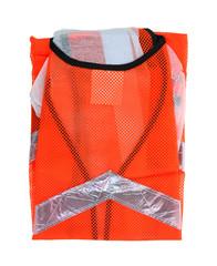 Safety Vest Back Neck up Close