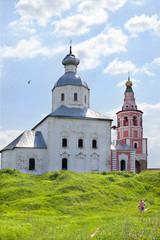 Church of Ilya prophet in Suzdal, Russia