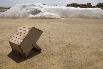 salt flats in Cervia