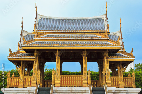 Golden Buddhism Pavillion