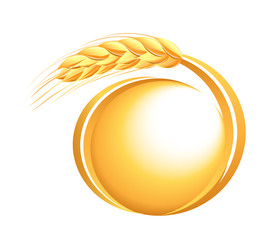 Wheat ears icon