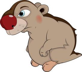 Beaver. Cartoon