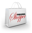 Personal Shopper Fashion Style Assistant Service Shopping Bag