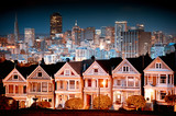 Fototapety Urban landscape San Francisco