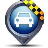 Fototapety Taxi pointer