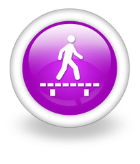 "Violet Icon ""Walk On Boardwalk"""