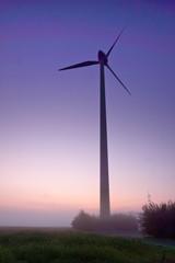 Windmill in morninglight
