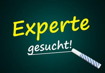 Experte gesucht (Fachkraft, Stellenangebot)