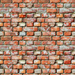 Seamless pattern - brick wall grunge background