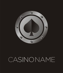 spades casino poster, backdrop, plakat, background, banner