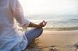 Woman meditating - 54726233