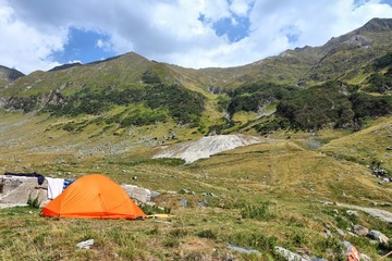 Camping in Romania - Fagaras mountains
