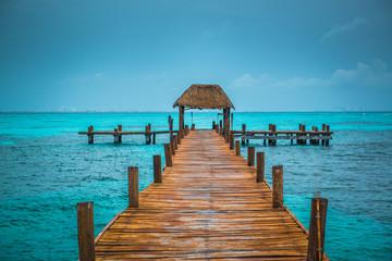 Caribbean pier