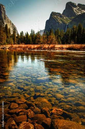 River in Yosemite Valley