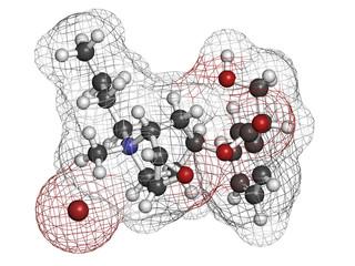 Butylscopolamine (butylhyoscine) drug