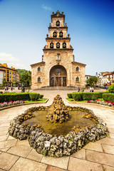 Church of the Assumption of Cangas de Onis, Asturias, Spain