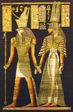 Black egyptian papyrus