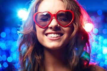 Heart-shaped glasses