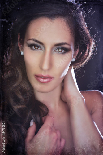 Portrait einer schönen Frau